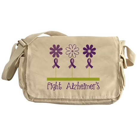 Fight Alzheimers Messenger Bag