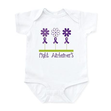 Fight Alzheimers Infant Bodysuit