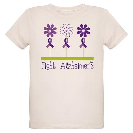 Fight Alzheimers Organic Kids T-Shirt