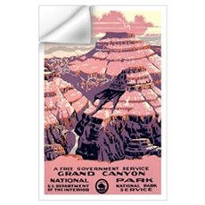 1930s Vintage Grand Canyon National Park Large Pos Wall Decal