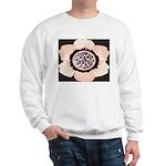 Pink and White Flower Leopard Sweatshirt