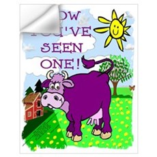 Purple Cow / Farm Wall Decal