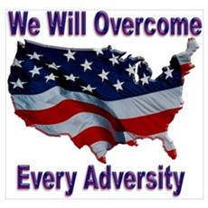 Overcome Adversity Poster