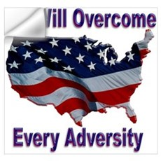 Overcome Adversity Wall Decal