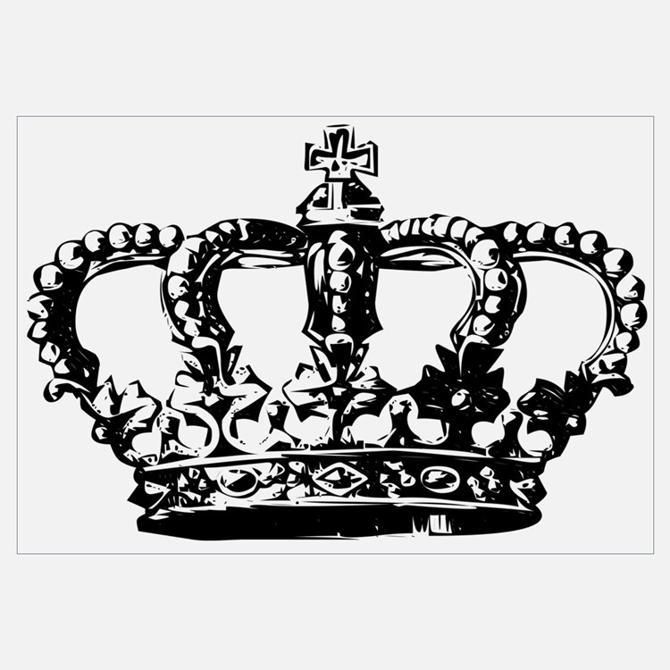 Black Crown Wall Decor : Crown wall art decor