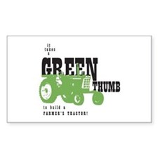 Oliver Green Thumb Decal