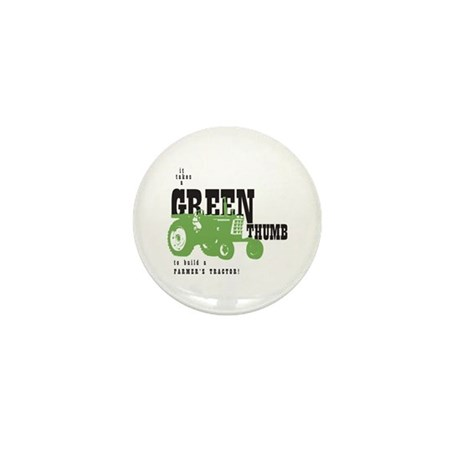Oliver Green Thumb Mini Button (10 pack)