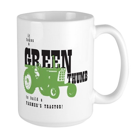 Oliver Green Thumb Large Mug