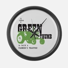 Oliver Green Thumb Large Wall Clock