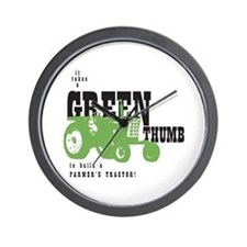 Oliver Green Thumb Wall Clock