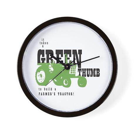 Oliver Green Thumb Wall Clock