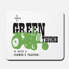 Oliver Green Thumb Mousepad