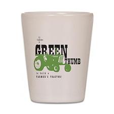 Oliver Green Thumb Shot Glass