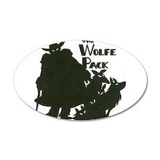 Nero Wolfe 22x14 Oval Wall Peel