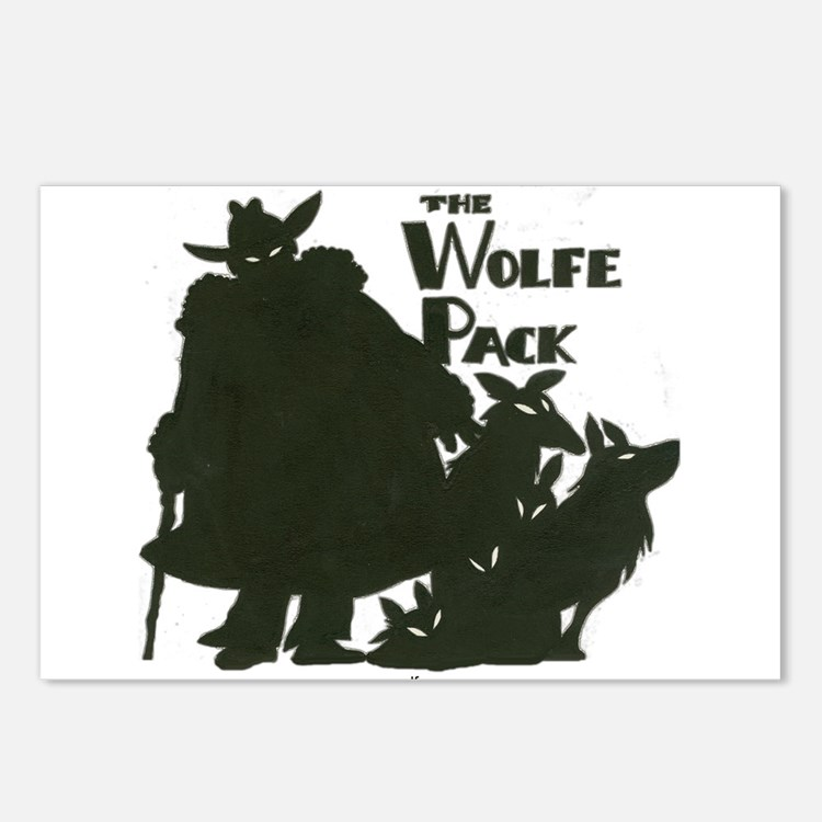 Nero Wolfe Postcards (Package of 8)