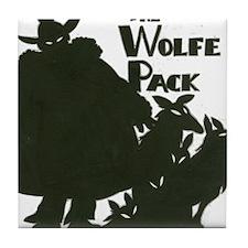 Nero Wolfe Tile Coaster