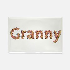 Granny Fiesta Rectangle Magnet
