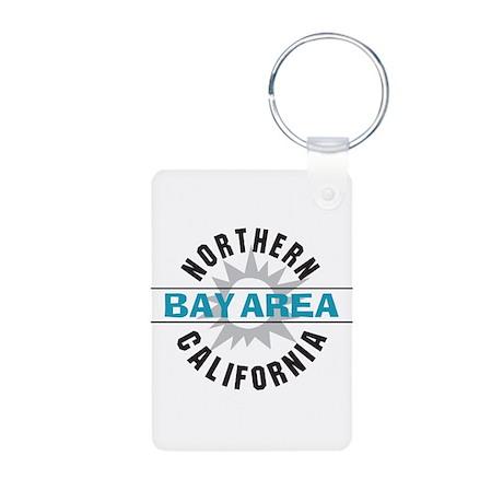 Bay Area California Aluminum Photo Keychain