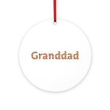 Granddad Fiesta Round Ornament