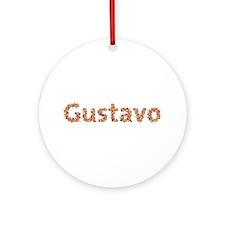 Gustavo Fiesta Round Ornament