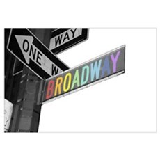 Broadway Canvas Art