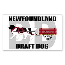 Landseer Draft Dog Decal