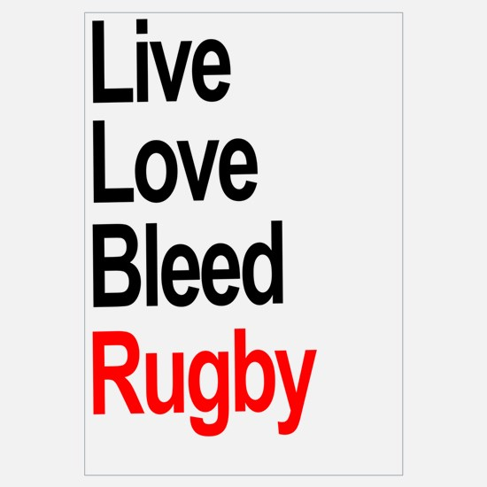 Live, Love, Bleed, Rugby