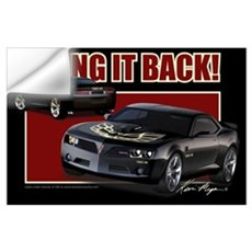 Bring It Back In Black Wall Decal