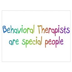 Behavioral Therapists Are Special People Mini Post Framed Print