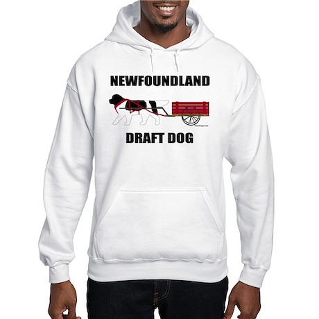 Landseer Draft Dog Hooded Sweatshirt
