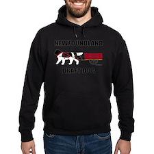 Landseer Draft Dog Hoodie
