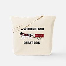 Landseer Draft Dog Tote Bag