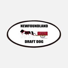 Landseer Draft Dog Patches