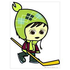Hockey Boy Poster