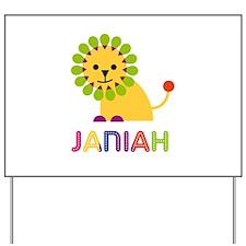 Janiah the Lion Yard Sign