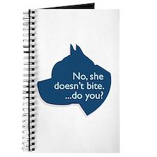 SHE doesn't bite! Journal