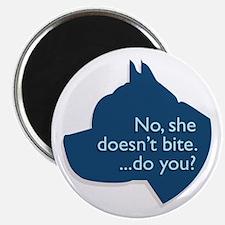 SHE doesn't bite! Magnet