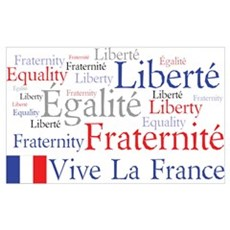 France - Liberty, Equality, F Poster