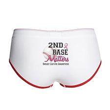 Second 2nd Base Breast Cancer Women's Boy Brief