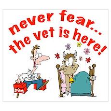 vet is here Poster