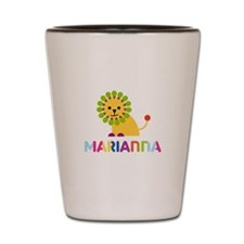 Marianna the Lion Shot Glass