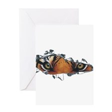Tiger Eyes Greeting Card