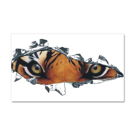 Tiger Eyes Car Magnet 20 x 12