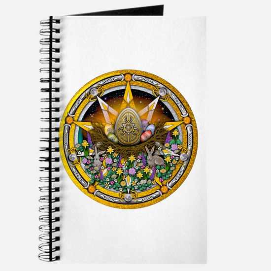 Ostara Pentacle Journal