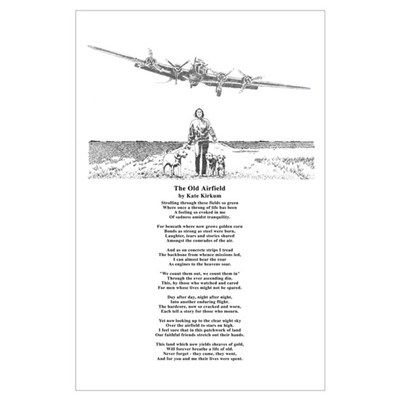 The Old Airfield 11x17 Print Poster