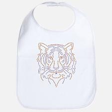 Rhinestone Tiger Bib