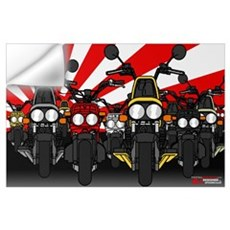 Ruckus Invasion Wall Decal