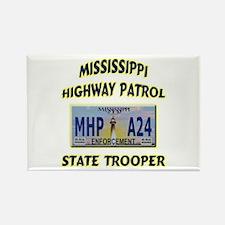 Mississippi Highway Patrol Rectangle Magnet