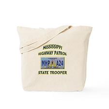 Mississippi Highway Patrol Tote Bag