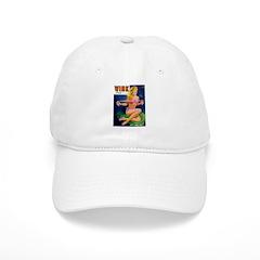 Wink Hot Blonde Girl in Pink Baseball Cap